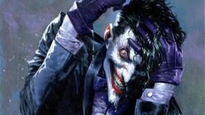 joker in the rain