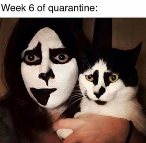 WEEK 6 OF QUARANTINE