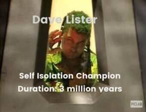 SELF ISOLATION CHAMPION