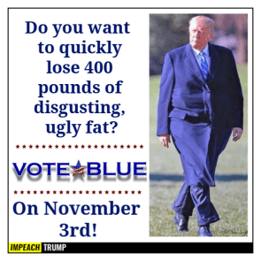 400 POUNDS OF DISGUSTING UGLY FAT