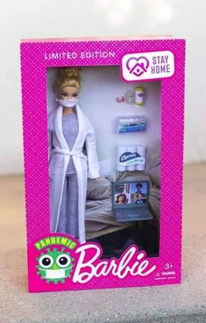 Pandemic Barbie