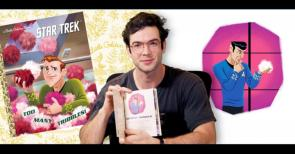 WATCH Ethan Peck Reads Too Many Tribbles
