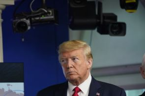Trump Ending Federal Funding for Coronavirus Testing Sites on Friday