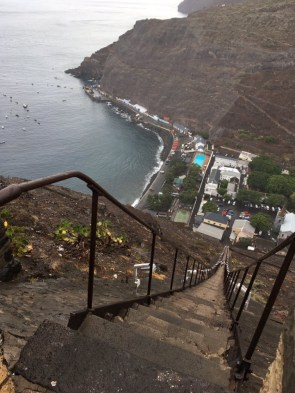 long stairs