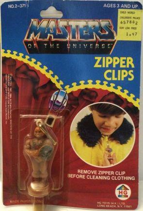 ZIPPER CLIPS