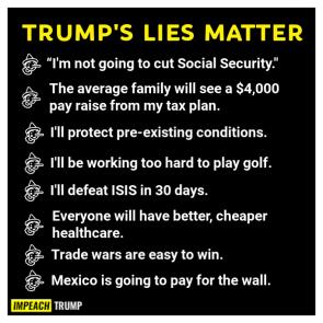 LIES MATTER