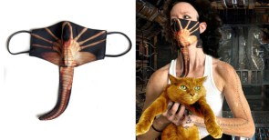 Social Distance Others Away from You With This Aliens Facehugger Mask