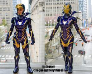 "3D Printed Avengers Endgame ""Rescue"" homemade Iron Man armor cosplay rmarvelstudios sent us"