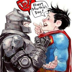 BATMAN V SUPERMAN DC Comics Original Art Watercolor By Artist DUSTIN NGUYEN   eBay