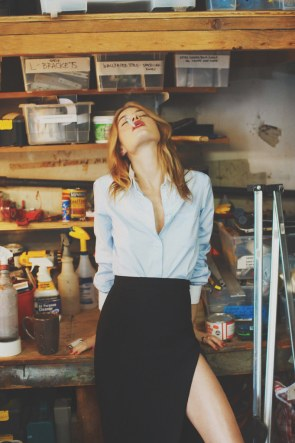 Fashion Musings  Editorial Camille Rowe for So It Goes