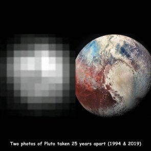 pluto is 25