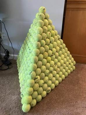 tennis stack