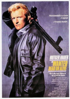 Rutger Hauer in Wanted Dead or Alive 1987