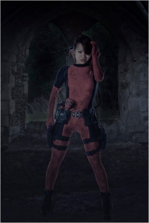 Rei as DeadPool