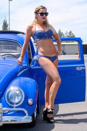 Blue Bug Blue Bikini