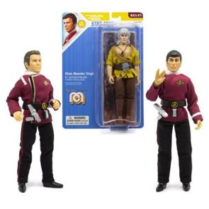 Star Trek II Mego 8-Inch Action Figure Wave 7 3-Pack Set