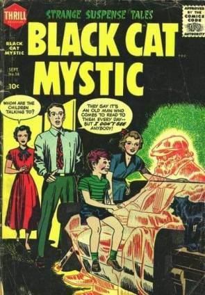 BLACK CAT MYSTIC