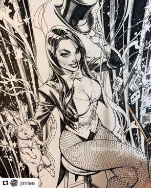 My Zatanna Art is NOW up for bid