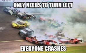 EVERYONE CRASHES
