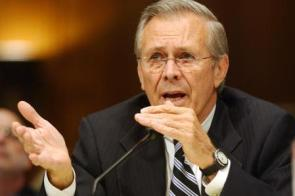 Rumsfeld Looting is transition to freedom