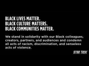 Star Trek Supports Black Lives Matter