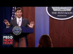 WATCH LIVE Secretary of Defense Esper holds a news conference