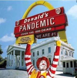 DONALD'S PANDEMIC