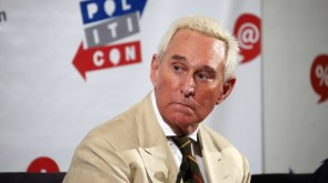 Roger Stone Uses Racial Slur During Live Interview on The MoKelly Show