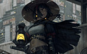 lantern lady