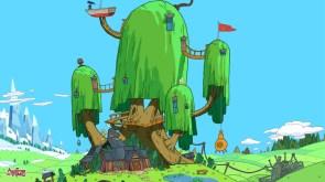 adventure time tree house