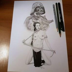 Star Wars Leila