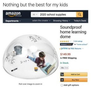 soundproof home learning dome