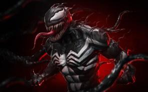 Venom in red light