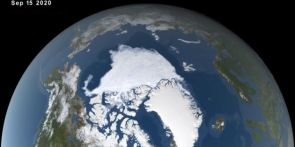 Arctic sea ice hits 2nd smallest summer extent on record
