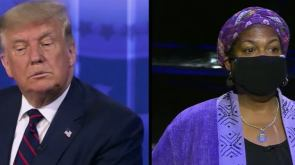 Woman says she's voting for Biden because Trump dodged her question in town hall