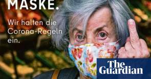 Berlin gives middle finger to anti-maskers in tourism agency ad