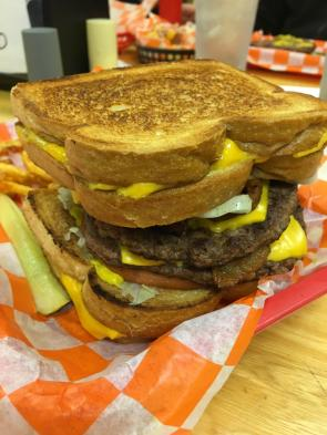 Grilled cheese buns
