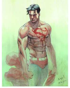 Superboy Prime by Miguel Mendonca