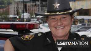The sheriff fired her because shes a lesbian so she ran against him Shell be the new sheriff now