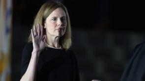 Pelosi Amy Coney Barrett 'an illegitimate Supreme Court justice'