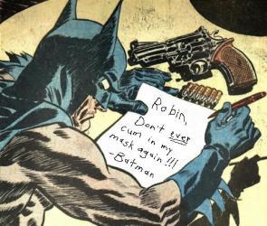 Dear Robin