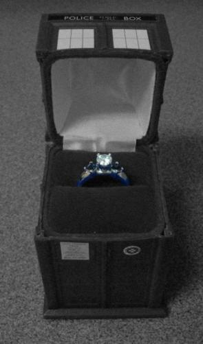 Tardis Ring Box