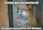 Firefox and wincrap