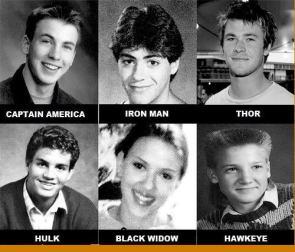 Avengers High School Year Book
