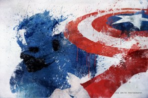 Avengers Splatter Art