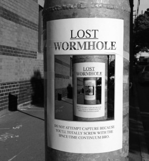 Lost Wormhole