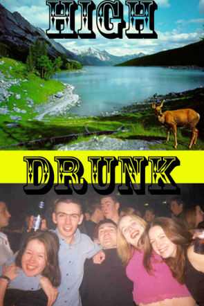 High Photography Vs Drunk Photography