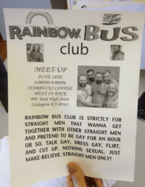 The Rainbow Bus Club