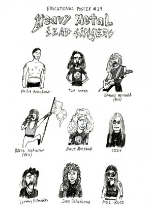 Heavy Metal singers