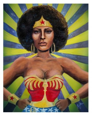 Foxy Brown Wonder Woman